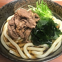 Beef niku udon noodle soup