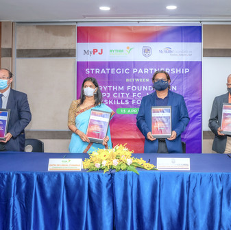 QI Group's RYTHM Foundation Launches Jaguh RF to Help at-risk Youth
