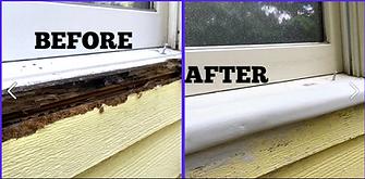 Before and After Door Repair