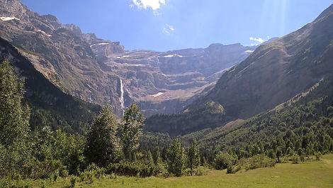 La cascade de Gavarni
