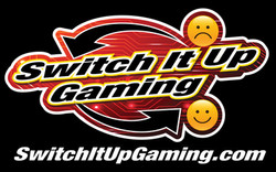 Switch It Up Gaming Logo Blk Background.