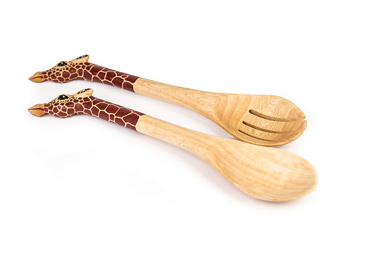 Giraffe Salad Servers