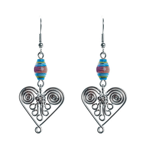 Healing Heart Earrings