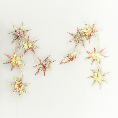 Floral Mini Star Lantern Set
