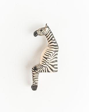 Sitting Zebra
