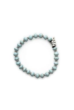 Sky Blue Elephant Bracelet