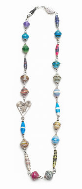"""24"""" Linked Hearts Necklace"""