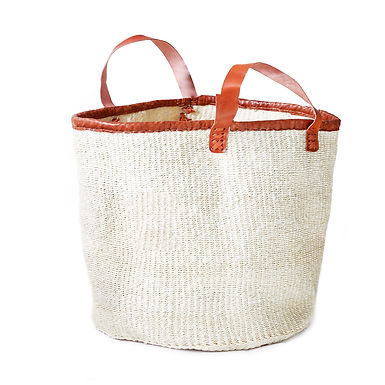 "The 18"" Laundry Basket - Natural White"