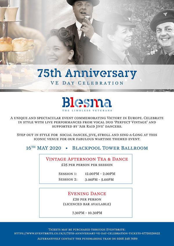 Perfect Vintage Blackpool Blesma Poster