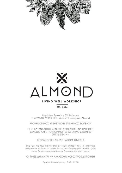 Almond Menu 8