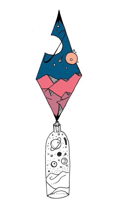 Sketch space in a bottle
