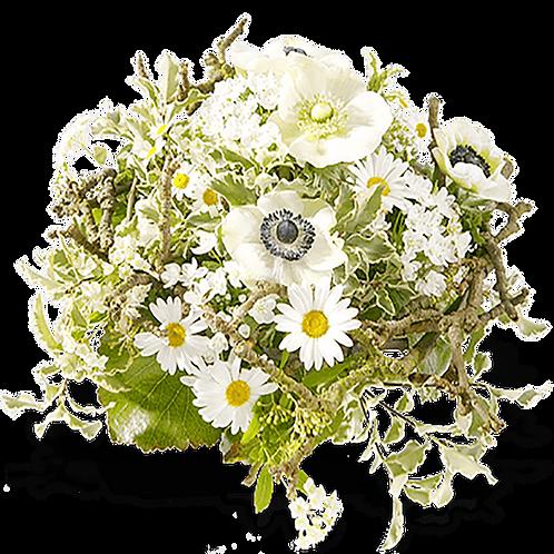 Einfarbiger Blumenstrauß L