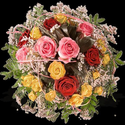Bunter Blumenstrauß XL