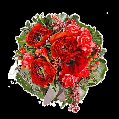 Einfarbiger Blumenstrauß M