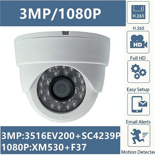 3MP  IP Camera 1080P 24 LEDs IRC ONVIF CMS XMEYE P2P Motion Detection RTSP