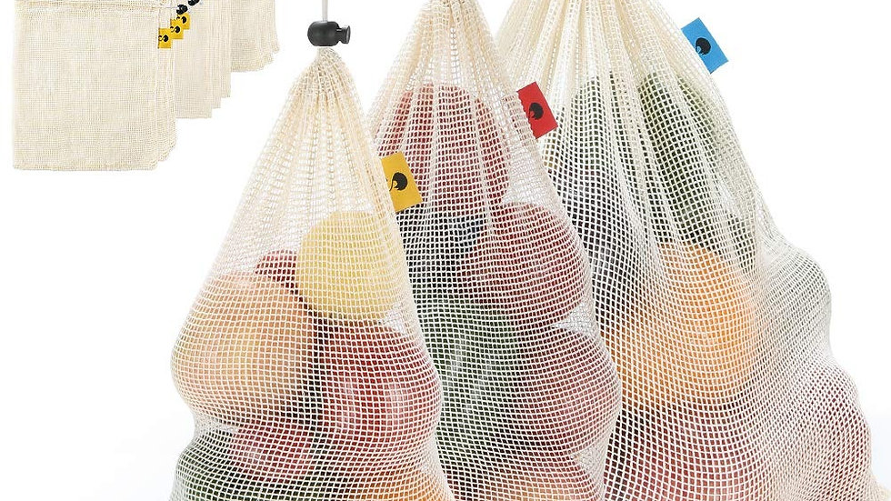Reusable Mesh Grocery/Produce bags