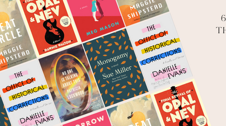 6 Favorite reads this year (so Far)
