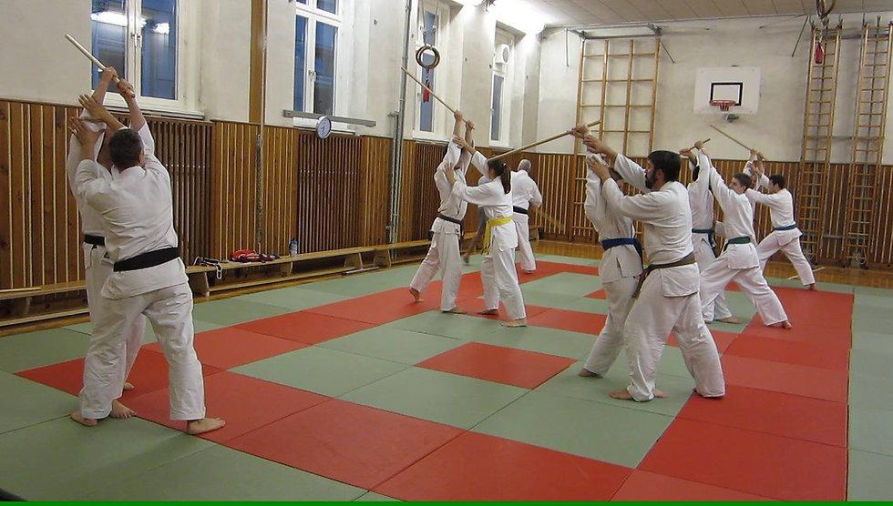 Jujutsu Verein Ottakring beim Training