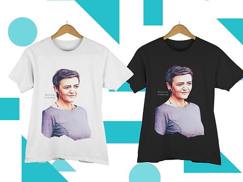 T-shirt Margrethe Vestager