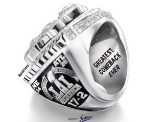 Bragging Rights - Patriots Unveil 5th Championship Ring