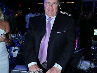 What Was Behind Belichick's Extra Bling?