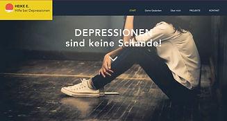Depressionen sind keine Schande!