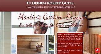 """Testseite """"Garten-Sauna"""""""