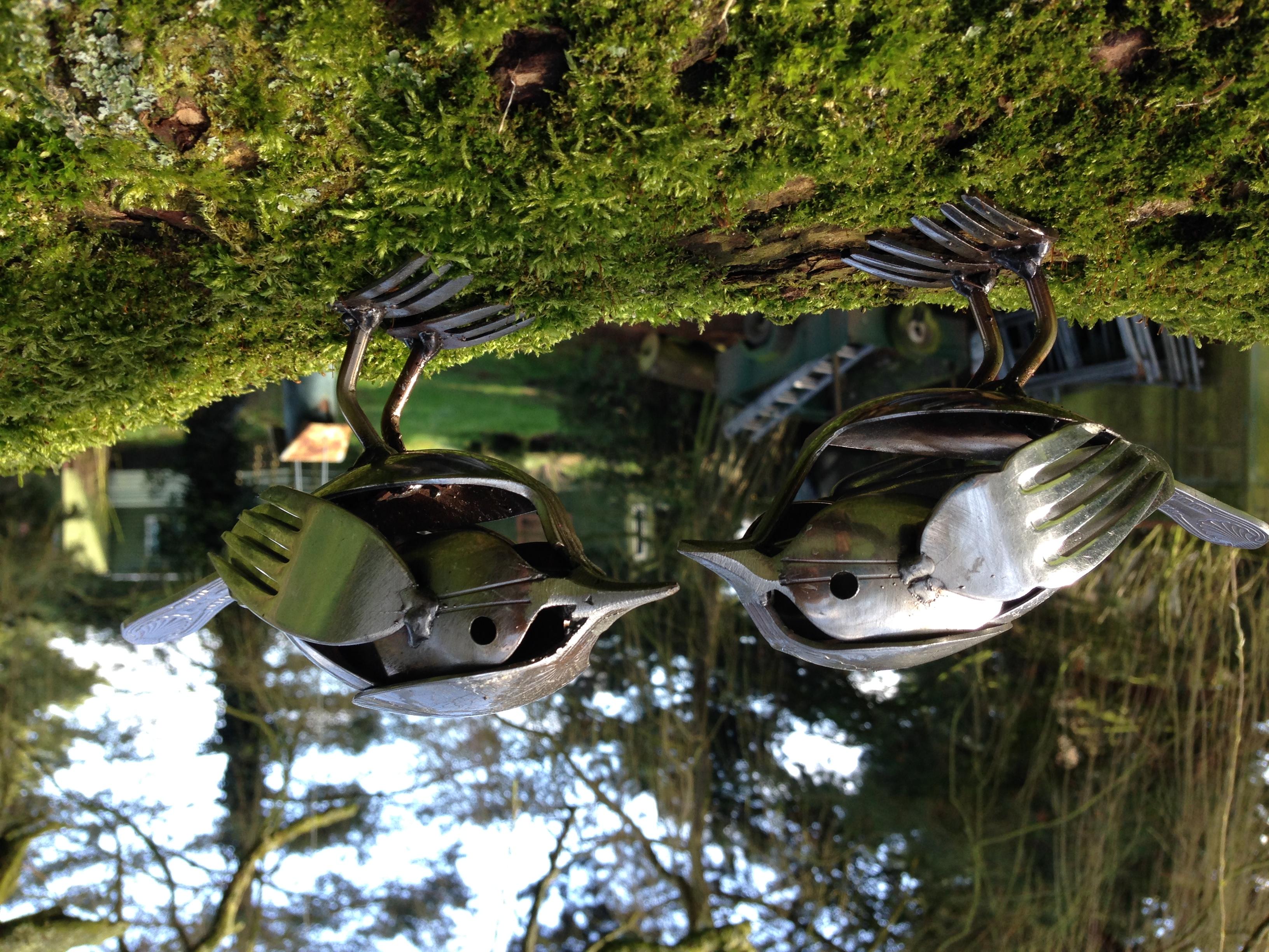 Cutlery Birds