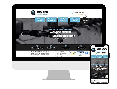 Half Page Website