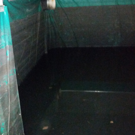 Commercial Water Tank Clean - Before