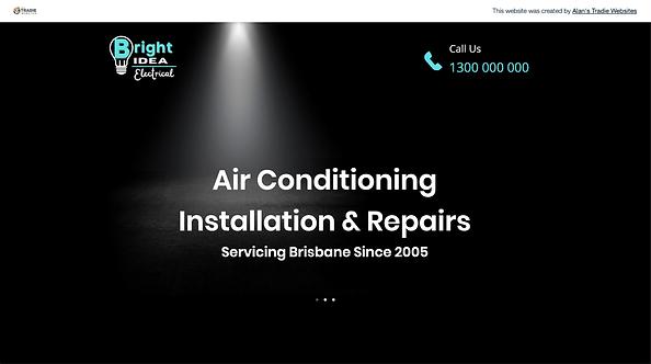 Wix Website Template - Bright Idea