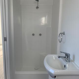 Caravan Park Portable Cabin Bathroom Unfurnished