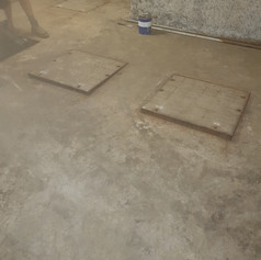Grease Trap Lids - Before