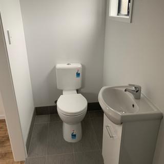 Portable Cabin Plan F Bathroom