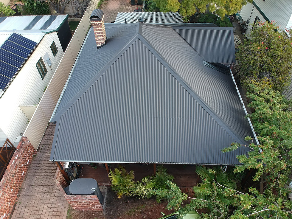 New Metal Roofs