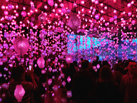 """Review: Getting intimate in Pipilotti Rist's """"Pixel Forest"""""""