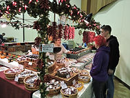 Shopping for local gifts and products at Lane County Holiday Farmers Market