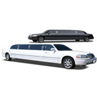 Chicago wedding stretch Lincoln limousines