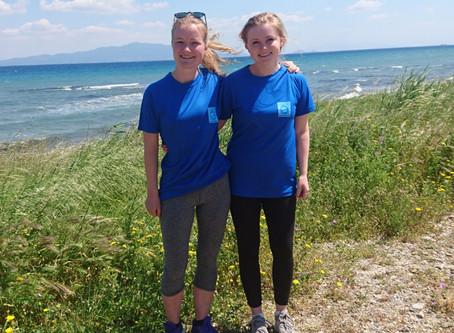 Styremedlemmer har vært frivillig på Lesvos