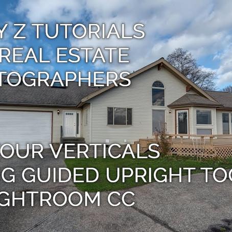 Fixing Verticals for Real Estate in Lightroom | Tony Z Tutorials