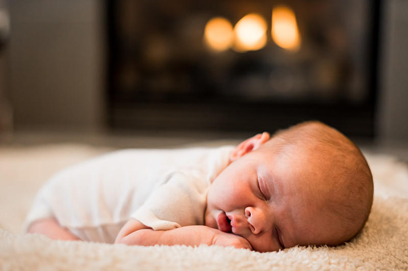 Newborn Photography Session in Ferndale