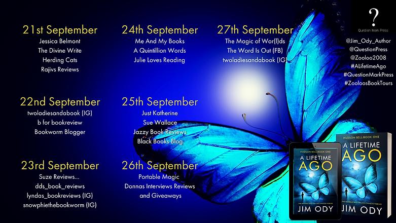 A Lifetime Ago Book Tour Poster.png
