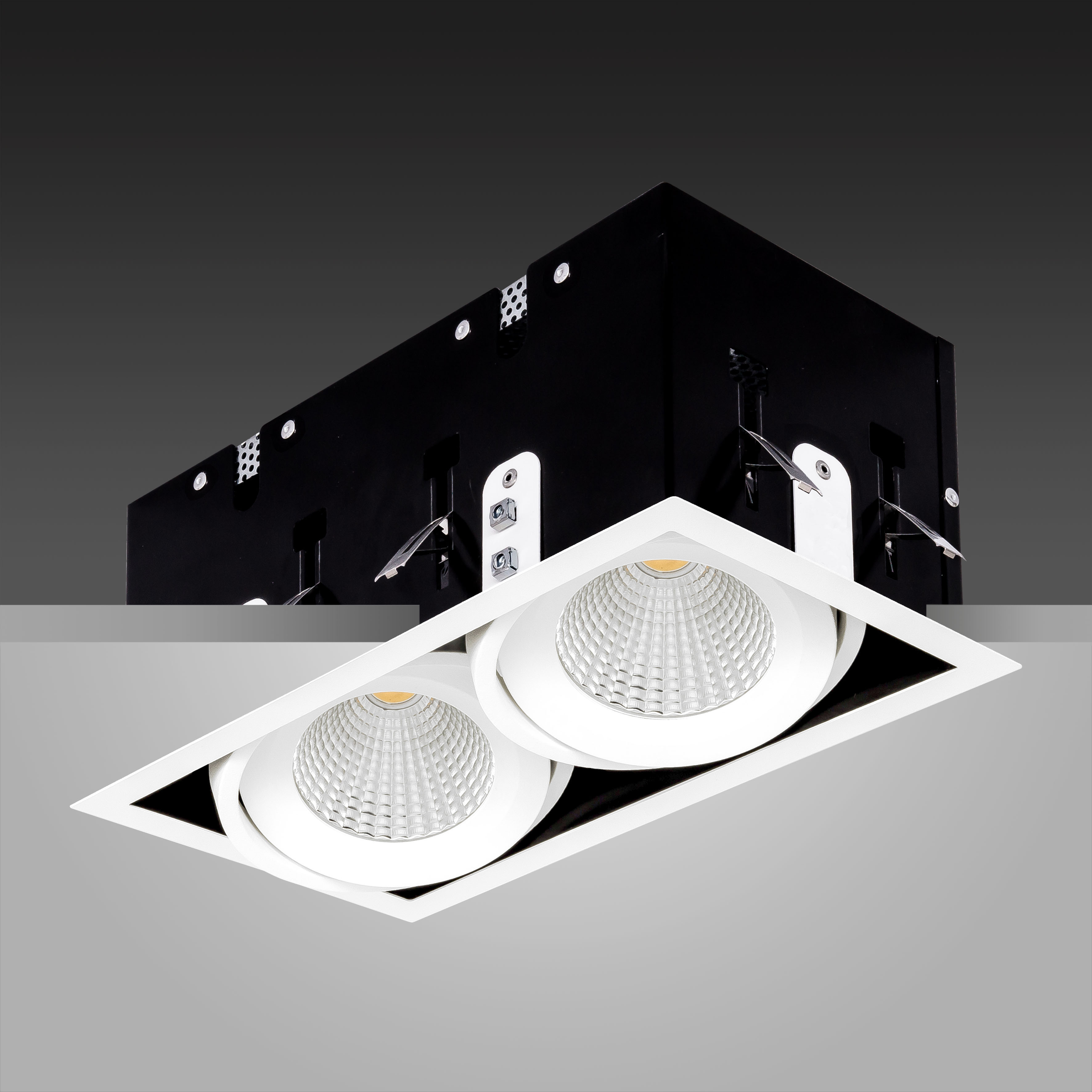 Array Twin Ceiling White