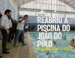 Reabriu a piscina do João do Pulo que estava fechada por 4 anos