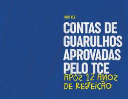 Contas de Guarulhos aprovadas pelo TCE