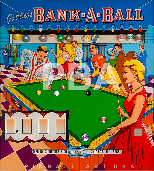 Gottlieb's Bank A Ball by Roy Parker