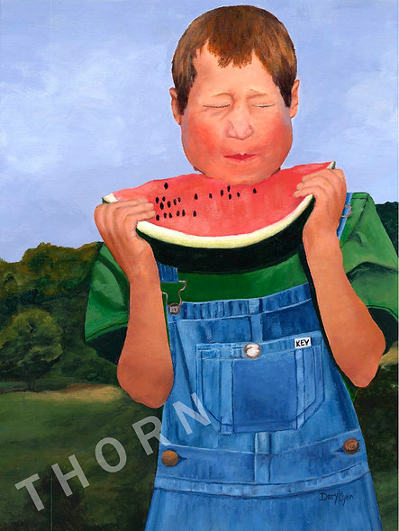 Watermelon Boy by Daryle Lynn Cornelison
