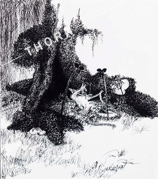 Swamptree A by Tom Byrne