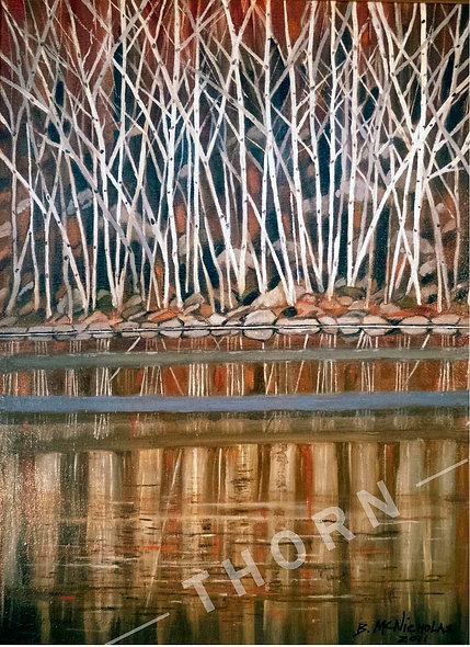 Birch Trees by Brian McNicholas