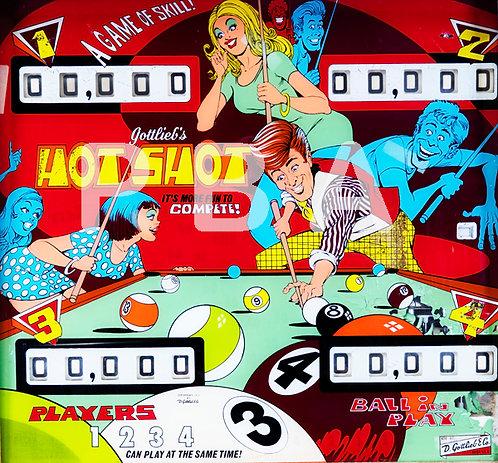 Hot Shot 1973 Gottlieb